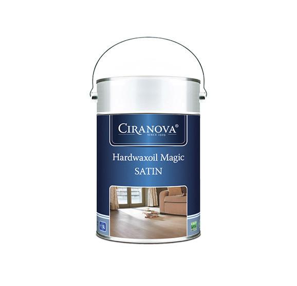 HARDWAXOIL MAGIC SATIN - szybkoschnący wosk twardy olejny